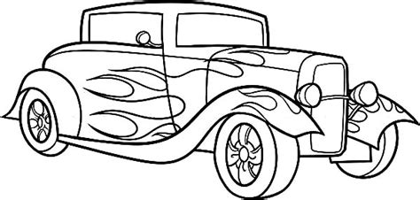 classic cars coloring pages for adults scuderia car coloring page