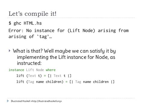 template haskell template haskell tutorial