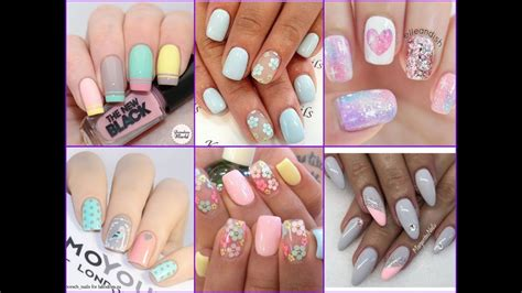 9 Fab Summer Nail Polishes Pastels Need Not Apply by Gorgeous Pastel Nail Compilation Nail Trend