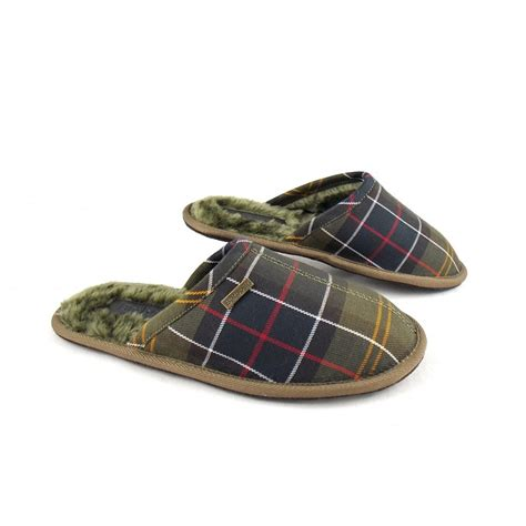 barbour slippers s barbour leigh tartan mule slippers barbour