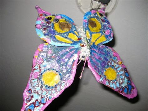 How To Make Paper Mache Butterfly - 1
