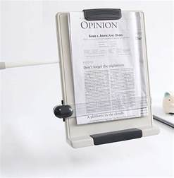 desk top book document reading stand flex arm book copy