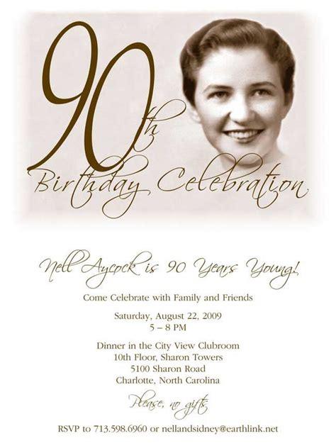 free printable 90th birthday invitations 90th birthday invitation turns 90