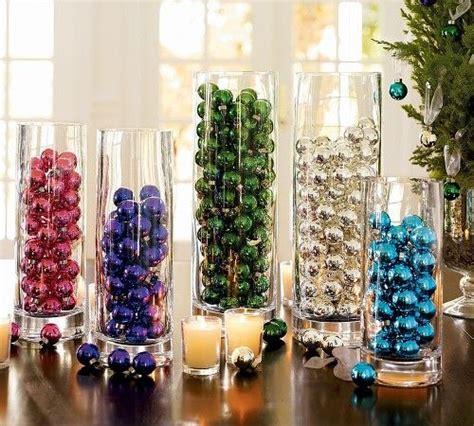 decoracion navide a de interiores decoraci 243 n con bolas navide 241 as de colores