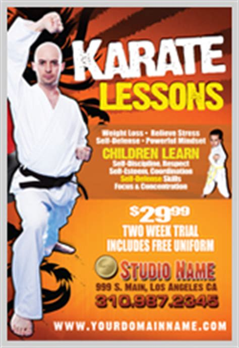 Martial Arts After School Templates
