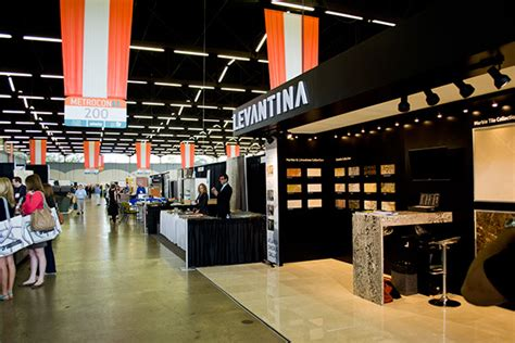 trade show booth design dallas levantina booth on behance