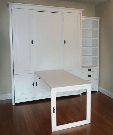 murphy bed with table 27 best exles of murphy beds and tables sortra