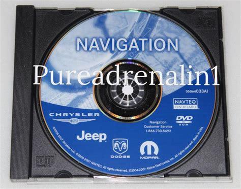 Update Jeep Grand Navigation Find Mopar Chrysler Jeep Ram Rb1 Rec Navigation Map Disc