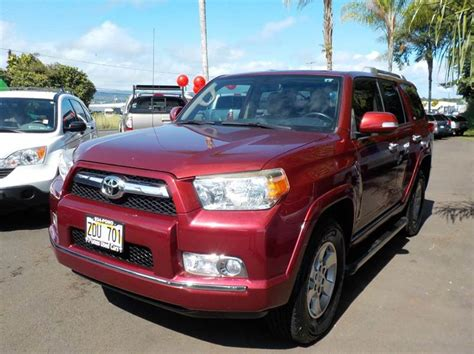 toyota used cars hilo 2011 toyota 4runner sr5 4x4 4dr suv in hilo hi pono s