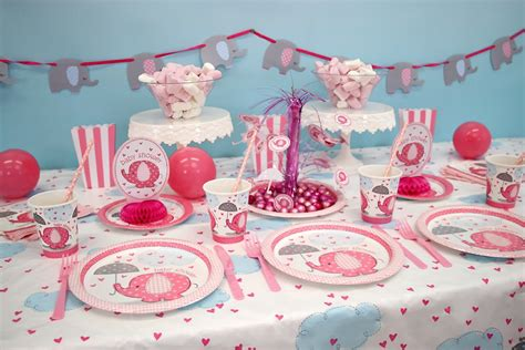 Elephant Baby Shower Ideas   Party Delights Blog