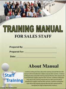 5 free training manual templates excel pdf formats