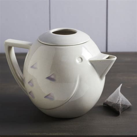 modern teapot ceramic bird teapot modern teapots by graham and green