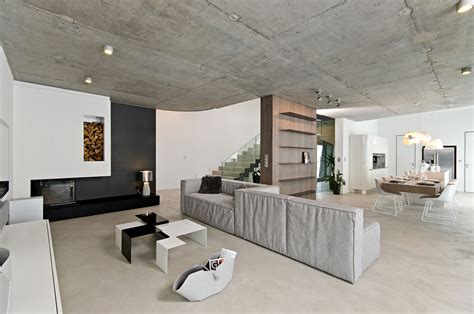 interior spaces concrete ceiling architecture magazine