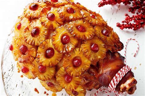 pineapple maple glazed ham recipe taste com au