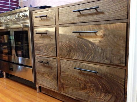 walnut kitchen cabinet image gallery walnut cabinets