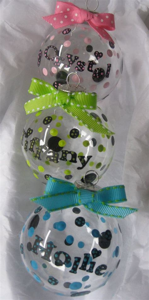 personalized christmas ornament by achristmascarol on etsy