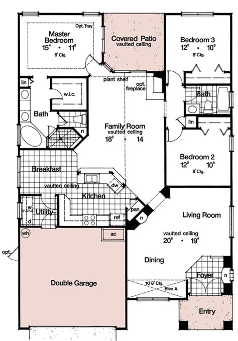 not so big house floor plans home plans not so big house