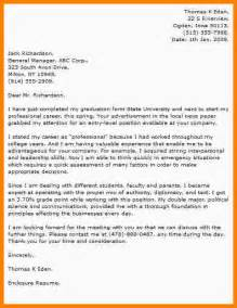 application letter of fresh graduate australian essay