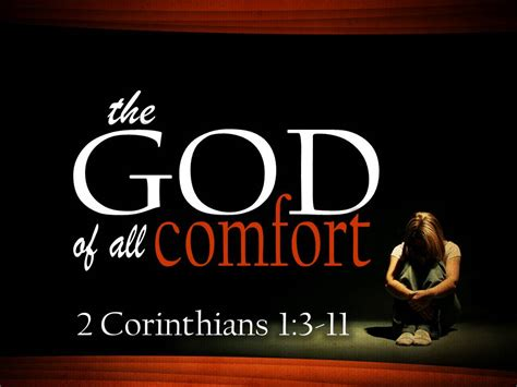 trust in the god of all comfort comfort rpm ministries