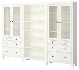 Ikea Bedroom Storage Furniture Hemnes Storage Combination Scandinavian Accent Chests