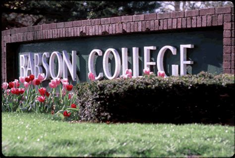 Babson Mba Cost Of Attendance by Babson College Bc Academics And Unique Programs