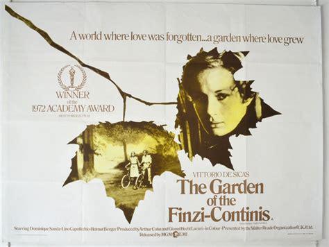 garden of the finzi continis the a k a il giardino dei