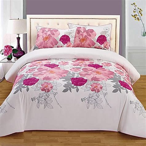 Organic Bedding Sets Organic Cotton Reversible Mini Comforter Set Bed Bath Beyond