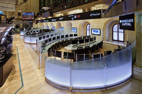 Stock Interiors by Perkins Eastman New York Stock Exchange Next Generation