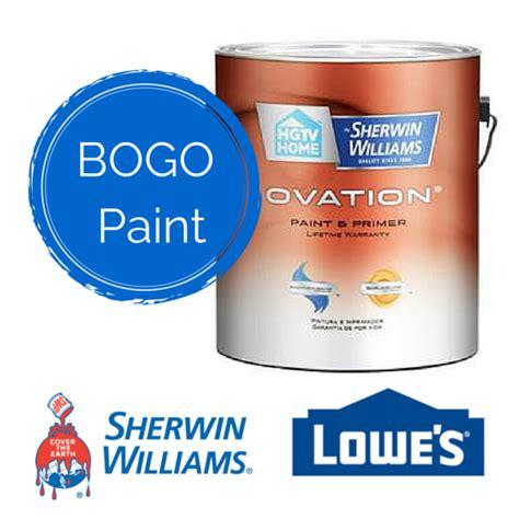 lowes paint lowe s paint sale bogo select paint