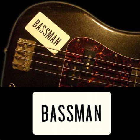 Bassman Sticker