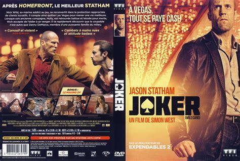 joker wild card cover mondoraro org jaquette dvd de joker cin 233 ma passion