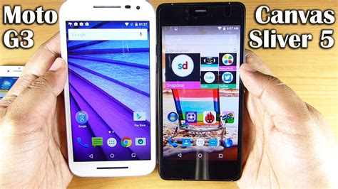 micromax canvas sliver 5 vs moto g 3rd ft iphone 6