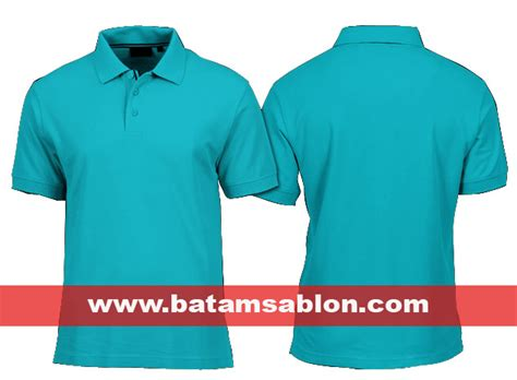 Kaus Kaos Katun Berkerah Polo Shirt Cotton Home Made Hi Quality pusat grosir kaos polos batam kualitas distro harga murah