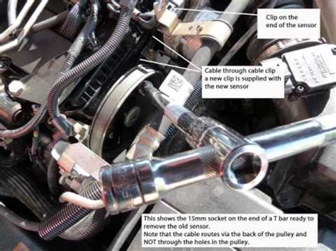 p1288 code ford cylinder temperature sensor location and removal ford