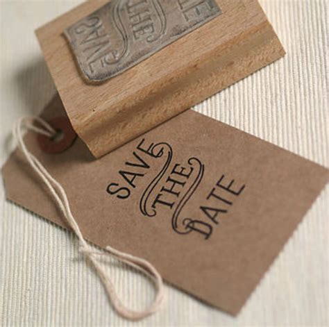 Style Stam by Vintage Style Save The Date St By Pretty Rubber Sts
