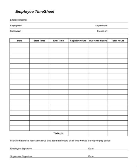 printable driver timesheets sle printable time sheet 9 exles in pdf word excel