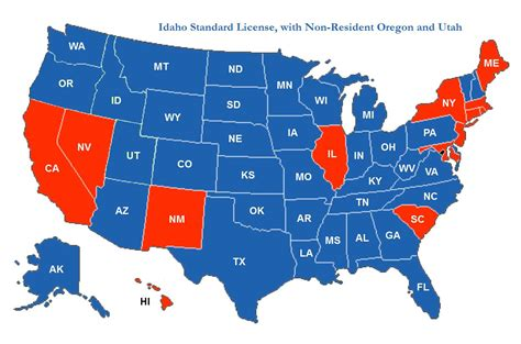 concealed handgun reciprocity map concealed carry state reciprocity map 2016 car release date