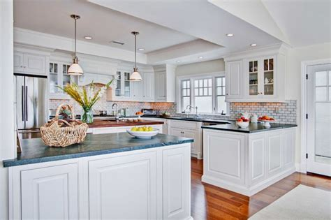 Kitchen Backsplash Stone Tiles colonial coastal kitchen traditional kitchen san