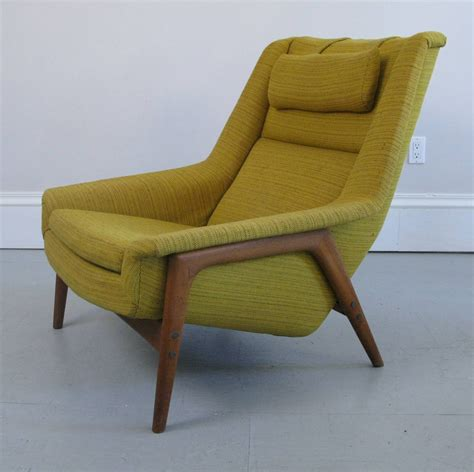 Midcentury Chair by Mid Century Swedish Lounge Chair And Ottoman With Dux