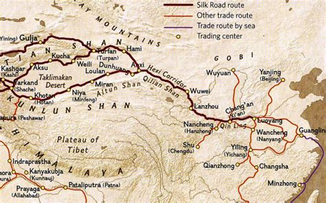 1408839997 the silk roads a ancient silk road routes and maps silk road travel