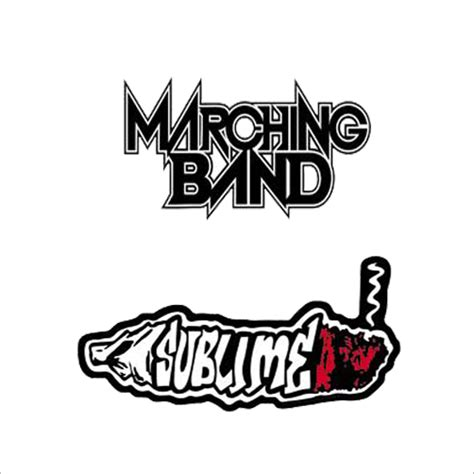 Sticker Stiker Band Silence band stickers sticker printing shop