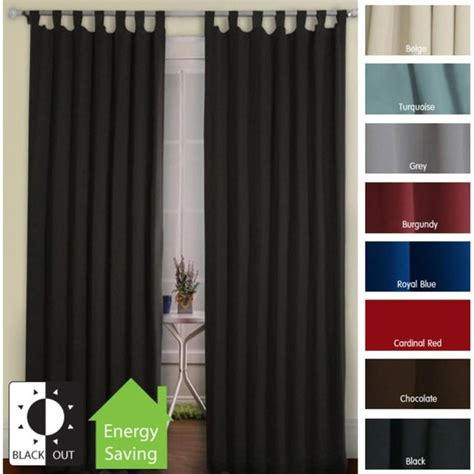 Bedroom Curtains Tab Top Thermal Tab Top Curtains Foter