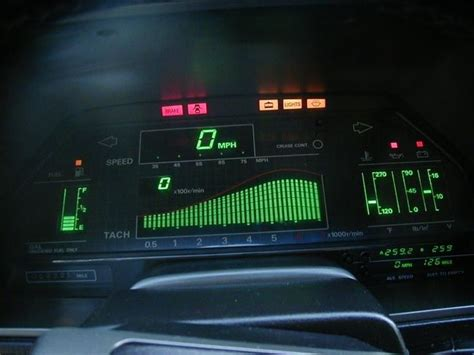 Cars With Digital Dashboards by 53 Best Images About Retro Car Dashboards On