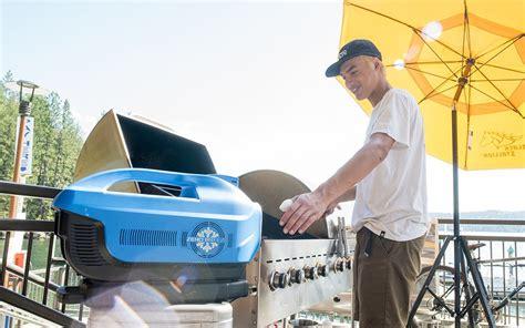 zero breeze portable air conditioner for camping