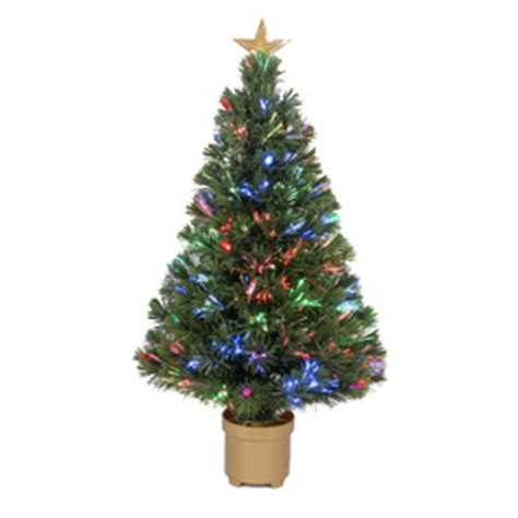 fiber optic artificial christmas trees lowes shop merske jolly workshop 3 ft tabletop pre lit pine artificial tree with fiber optic