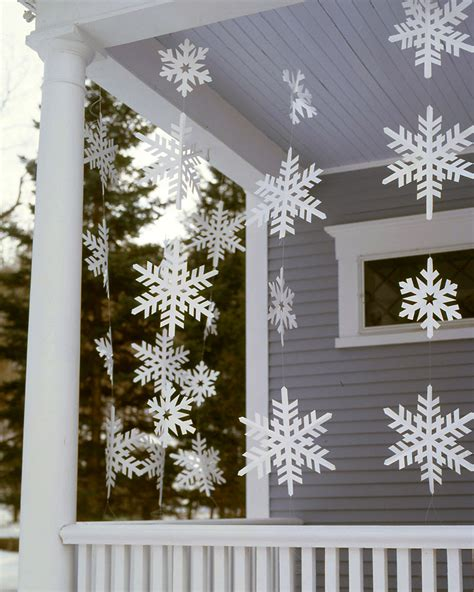 snowflake outdoor christmas decorations
