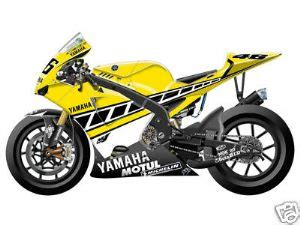 Graphic Tangki Yamaha Rx King 2004 Original Silver Motor The Doctor Valentino 1996 2012 Ride Alone