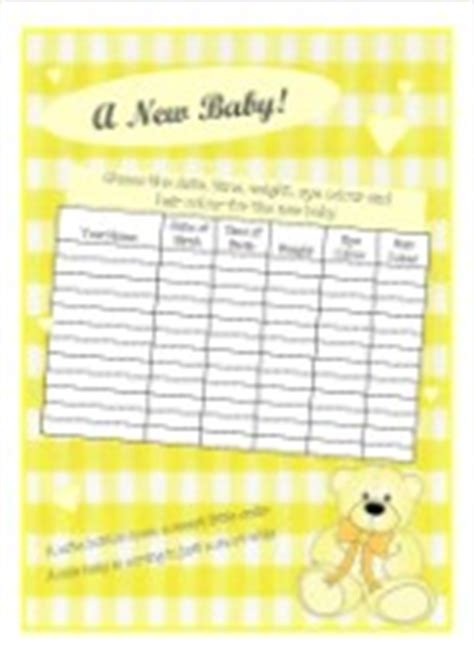 guess the weight of the baby template baby shower guess the weight baby shower