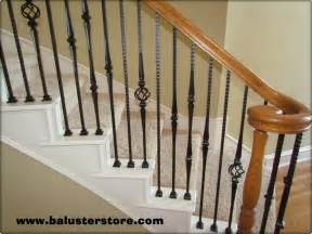 Wrought Iron Banister Spindles by High Quality Powder Coated Iron Balusters