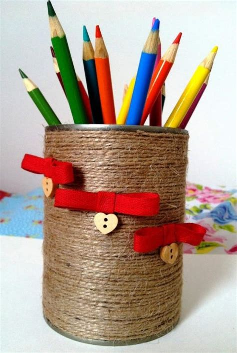 Handmade Home Decor Items by 15 Creative Pen Holders For Home Office Rilane